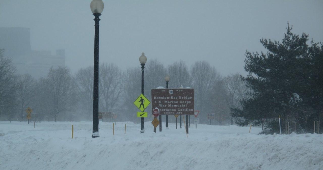 USA nie radzą sobie z nadmiarem śniegu