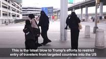 USA: Zablokowano trzeci dekret antyimigracyjny Trumpa