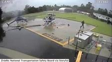 USA: Zderzenie policyjnych helikopetrów