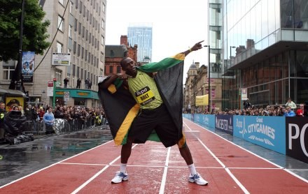 Usain Bolt /AFP