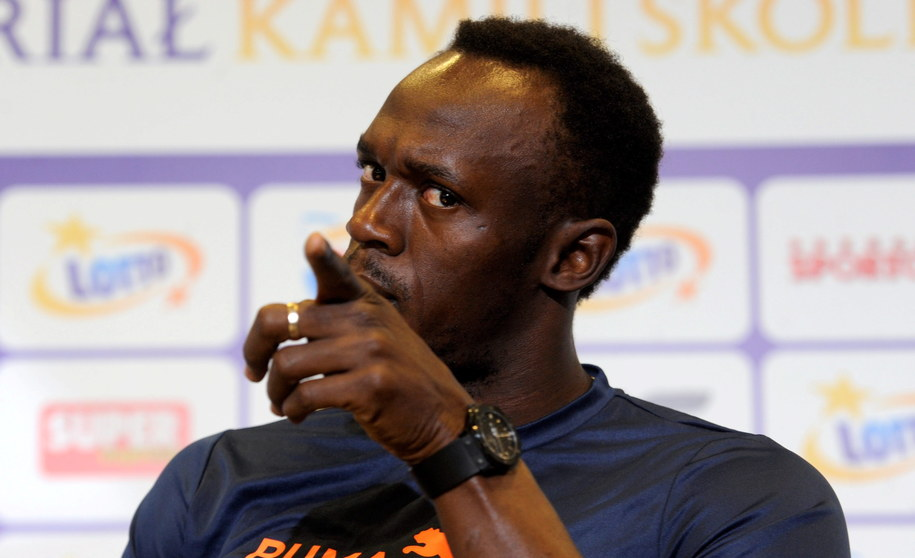 Usain Bolt /Bartłomiej Zborowski /PAP