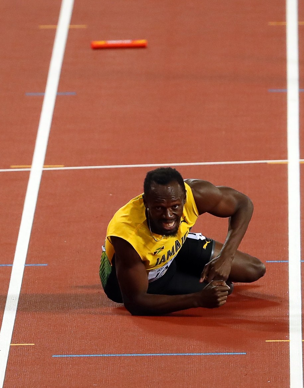 Usain Bolt /SEAN DEMPSEY /PAP/EPA