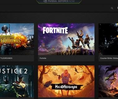 Usługa GeForce NOW zapewnia dostęp do gier również właścicielom mniej wydajnych komputerów