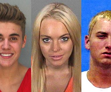 Uśmiech, proszę: Gwiazdy w policyjnych kartotekach