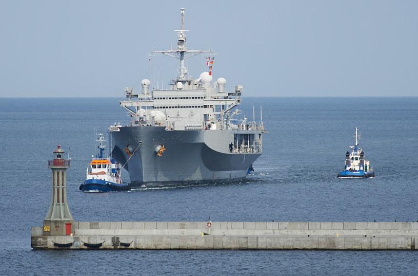 USS Mount Whitney zacumował w Gdyni /PAP