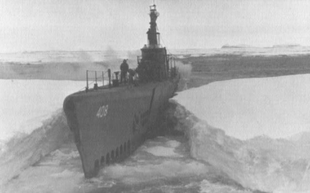 USS Sennet wśród lodów Antarktyki /materiały prasowe