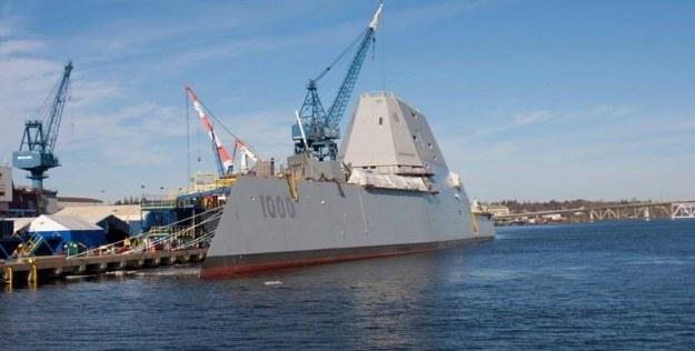 USS Zumwalt.  Fot. General Dynamics Bath Iron Works /materiały prasowe
