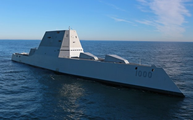 USS Zumwalt. Fot. U.S. Navy photo courtesy of General Dynamics Bath Iron Works/Released /materiały prasowe