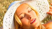 Usta na słońcu