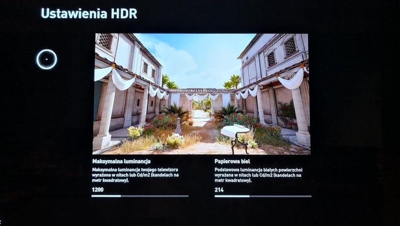 """Ustawienia HDR w grze """"Assassins's Creed: Origins"""" /INTERIA.PL"""