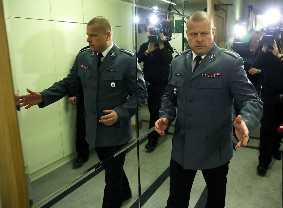 Ustępującu komendant główny policji inspektor Zbigniew Maj /Tomasz Gzell /PAP