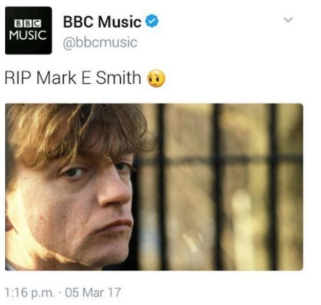 Usunięty wpis z Twittera BBC News /