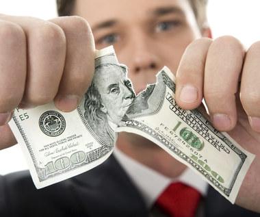 Uszkodzony banknot można wymienić na nowy