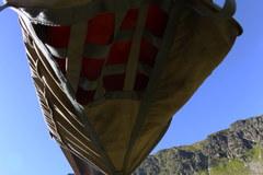 Uszkodzony śmigłowiec TOPR-u w Dolinie Gąsienicowej