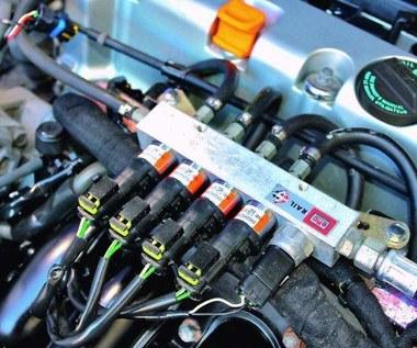 Uwaga! Te silniki nie nadają się do LPG