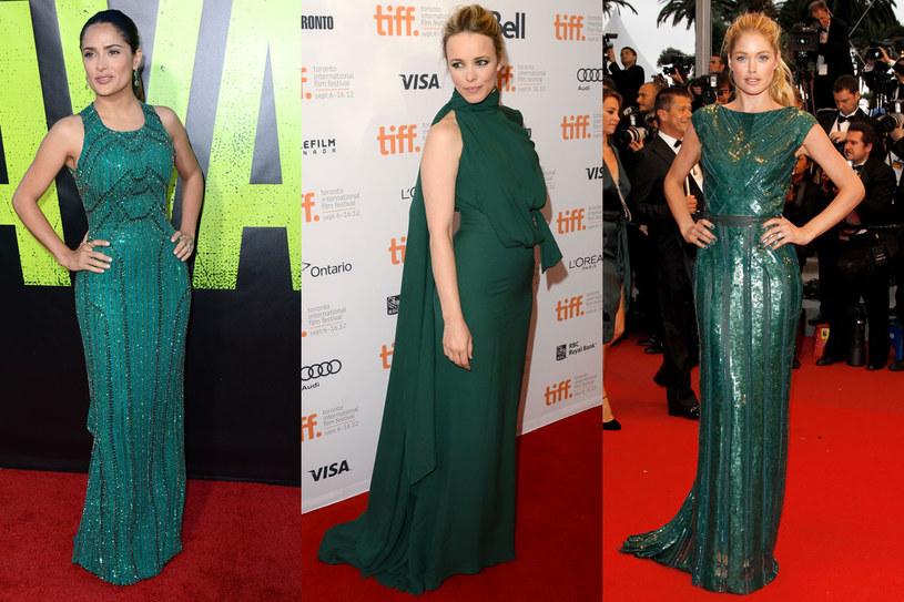 Uważaj, nie każdy odcień zieleni jest hitem sezonu! /Getty Images/Flash Press Media