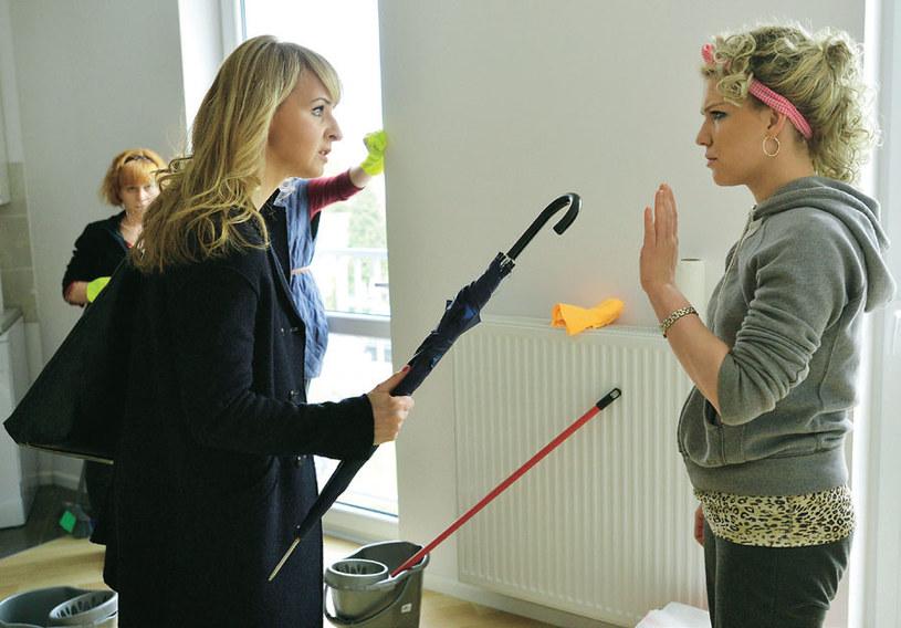 – Uwielbiam nasze bohaterki za solidarność i siłę do walki – mówi Magda (z prawej) /Tele Tydzień