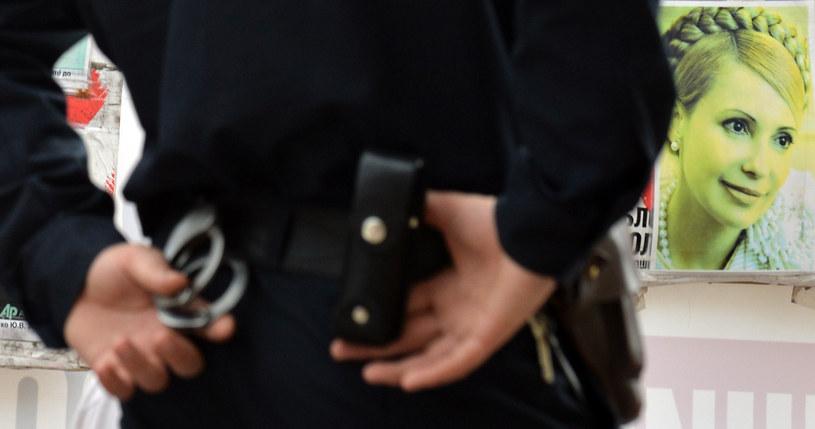 Uwięzienie Julii Tymoszenko jest jednym z powodów oziębienia stosunków pomiędzy Ukrainą a Europą /AFP