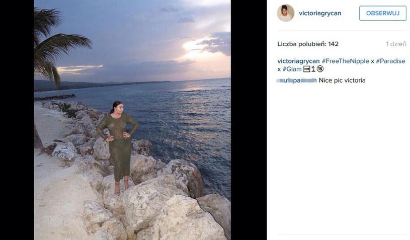 """Uwolnić sutki"" /@victoriagrycan /Instagram"