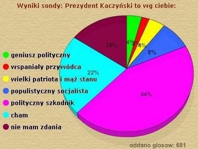 Użytkownicy gry Farmersi źle oceniają postać prezydenta Kaczyńskiego /INTERIA.PL