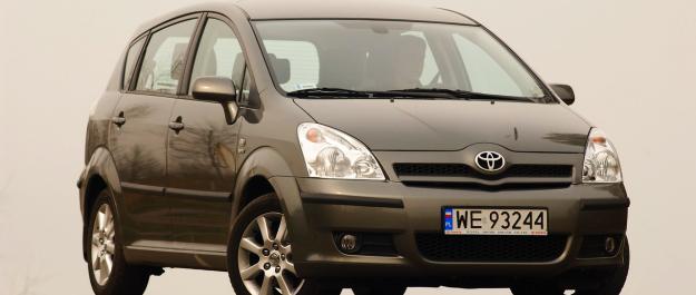 Używana Toyota Corolla Verso - opinie użytkowników