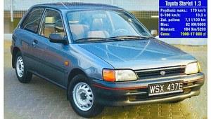 Używana Toyota Starlet (1989-1996) – zakup bez ryzyka