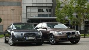 Używane Audi A6 (C6) i BMW 5 (E60)