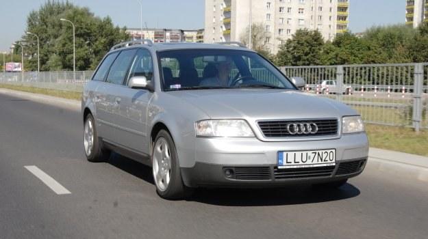 Używane Audi A6 w wersji 1.9 TDI 110 KM nie grzeszy osiągami, ale zużywa bardzo małe ilości paliwa. /Motor