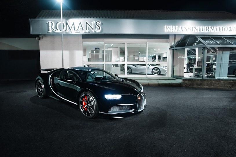 Używane Bugatti Chiron wyceniono bardzo wysoko /