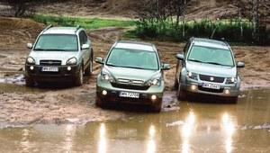 Używane SUV-y: CR-V, Tucson i Grand Vitara. Który wybrać?