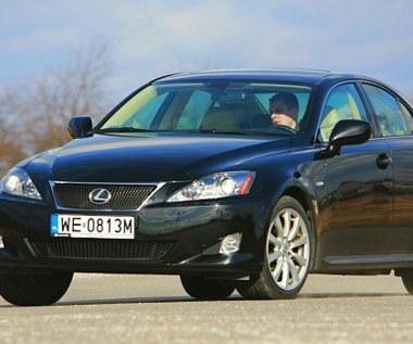 Używany Lexus IS - świetne auto, ale ma poważną wadę