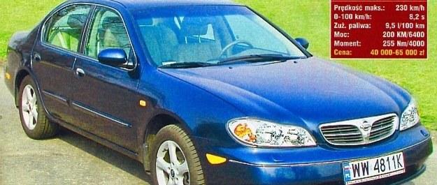 Używany Nissan Maxima QX - nic, tylko jeździć