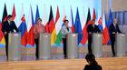 V4 i Merkel: Kluczowe tematy UE to bezpieczeństwo i gospodarka