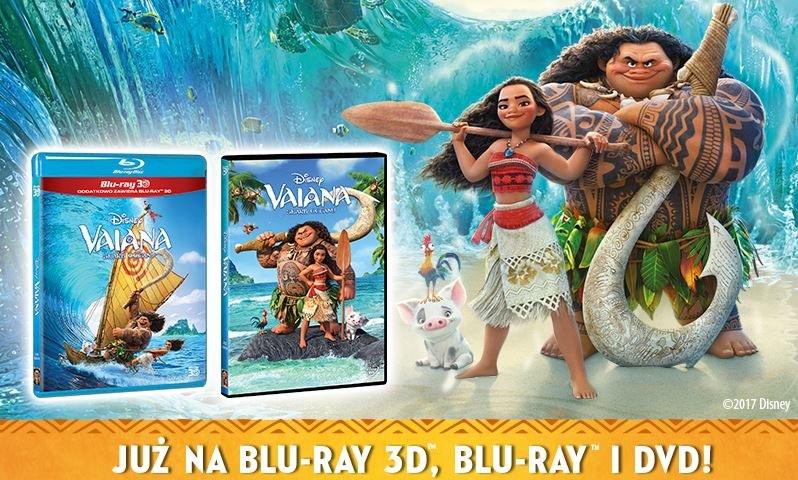 Vaiana: Skarb Oceanu już na Blu-Ray i DVD /materiały prasowe