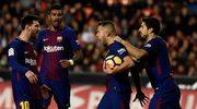 Valencia CF - FC Barcelona 1-1 w 13. kolejce Primera Division