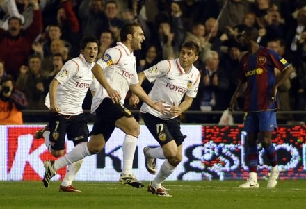 Valencia ograła wielką Barcelonę! /AFP
