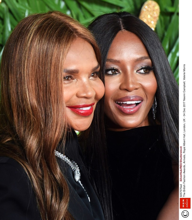 Valerie i Naomi Campbell /East News