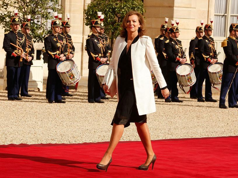 Valerie Trierweiler ma klasę, jest energiczna i inteligentna /- /Getty Images