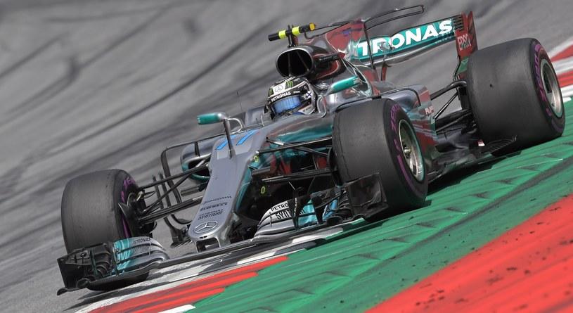 Valtteri Bottas podczas GP Austrii /AFP