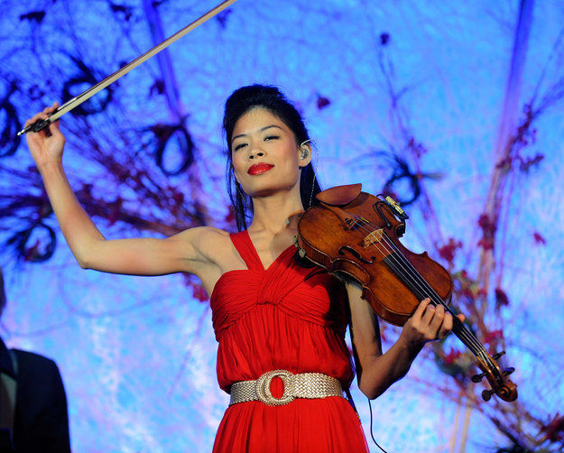Vanessa Mae /Ethan Miller /Getty Images/Flash Press Media
