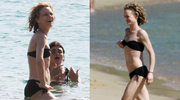 Vanessa Paradis w bikini. Coraz chudsza!