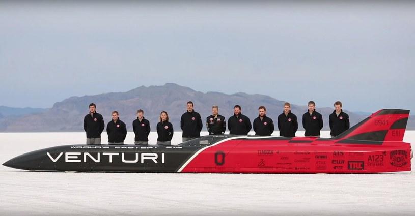 Venturi stworzyło elektryczny pojazd, który pobił rekord prędkości /YouTube