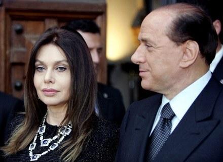 Veronica Lario powiedziała: mam dość! /AFP
