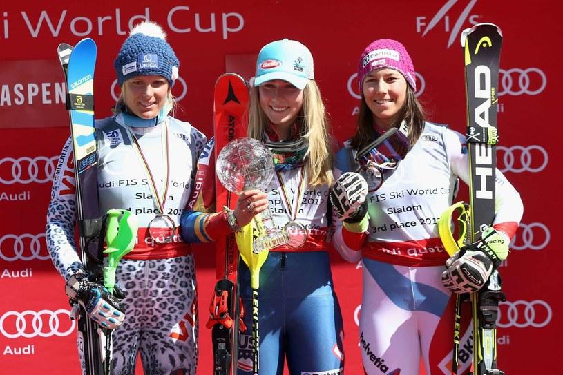 Veronika Veluz Zuzulova (pierwsza z lewej) /AFP