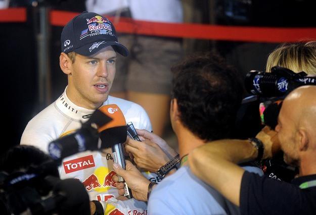 Vettel jest o włos od mistrzostwa /AFP