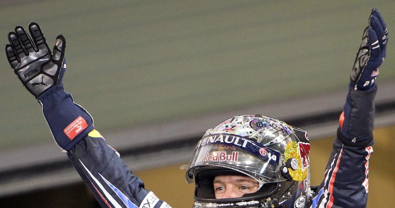 Vettel świętuje mistrzostwo świata