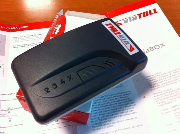 ViaBox, który montuje się w samochodzie /RMF