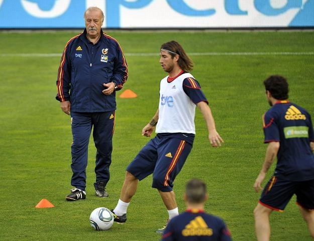 Vicente del Bosque, trener piłkarskiej reprezentacji Hiszpanii /AFP