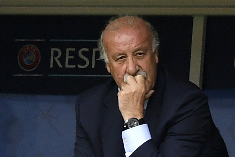 Vicente del Bosque /AFP