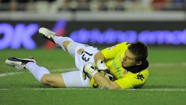 Vicente Guaita, bramkarz Valencia CF /AFP